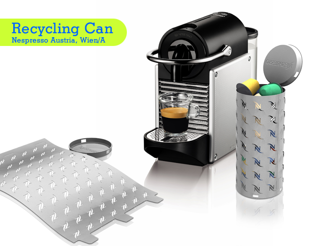 roDesignment RouvenHaas Nespresso Recycling Can
