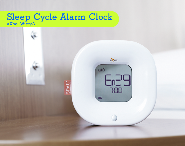 roDesignment RouvenHaas aXbo Sleeo Cycle Alarm Clock