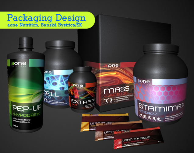 roDesignment RouvenHaas aone Nutrition Packaging Design